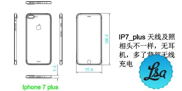 iPhone 7 Plus kaavakuva