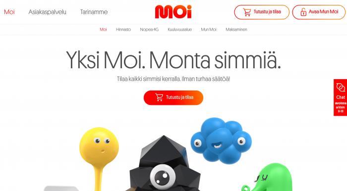Moi kertoo panostavansa moderniin verkkokauppaan ja toimintatapaan.