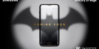 Haluatko olla Batman? Uusi Galaxy S7 edge -erikoisversio tulossa