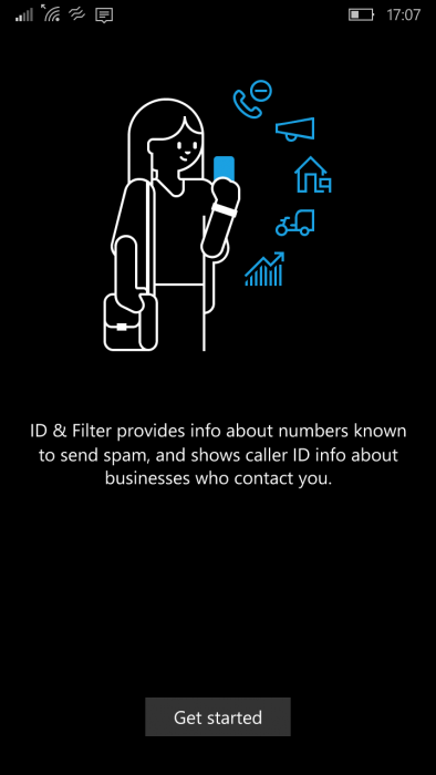 Windows 10 Mobile ID & Filter