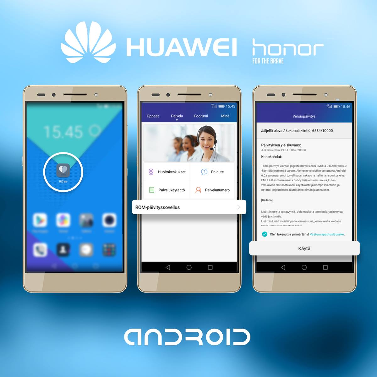 Huawei Android 6.0 HiCare