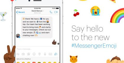 Facebook Messengerin emojivalikoima menee uusiksi.