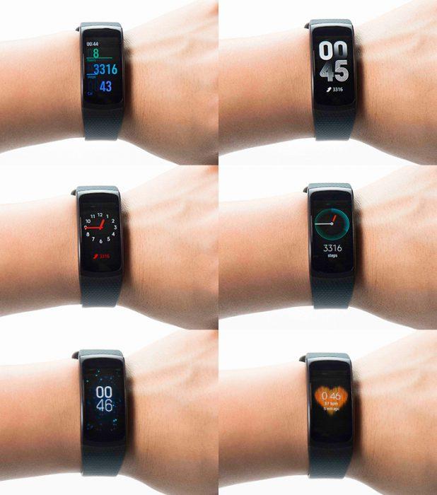 Samsung Gear Fit2.