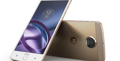 Moton Z-sarja on Lenovon tuoreimpia Android-puhelimia.