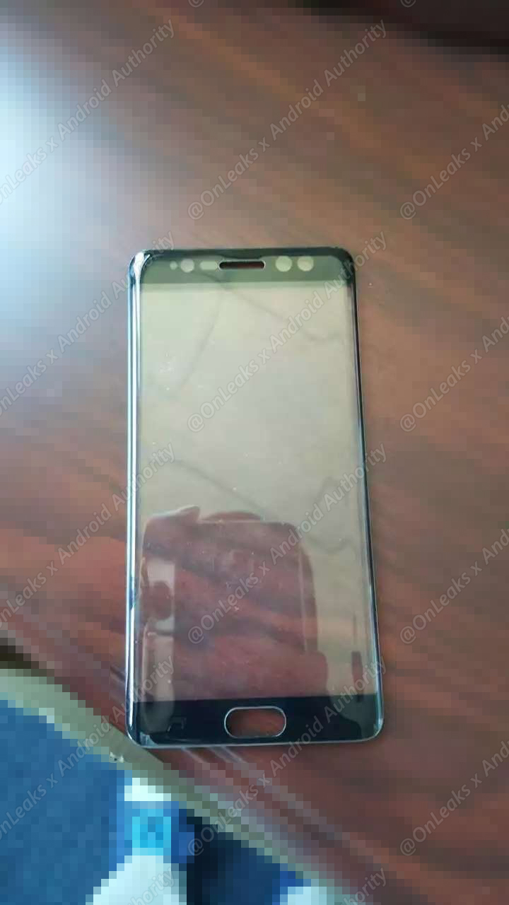 Samsung Galaxy Note7 etupaneeli