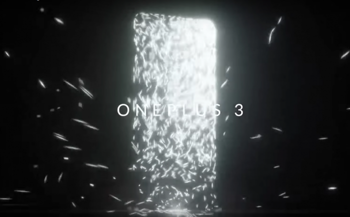 OnePlus 3 teaser