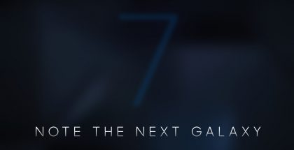 Samsung Galaxy Note 7 teaser