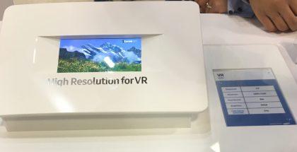 Samsung 4K UHD VR näyttö