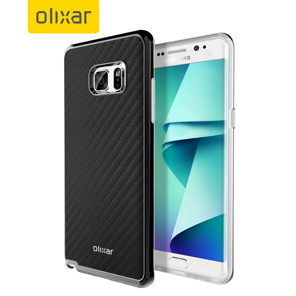 Samsung-Galaxy-Note-7-Olixar-Carbon-Black-Case