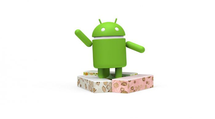 Android Nougat.