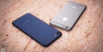 Seuraavaan iPhoneen odotetaan myös kookkaampaa kameraa - ja mahdollisesti uutta sinistä värivaihtoehtoa, joka tässä esillä designer Martin Hajekin luomassa konseptikuvassa.
