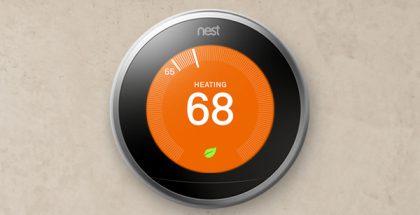 Nestin ensimmäinen ja yhä hallitseva tuote on sen älykäs termostaatti, joka muun muassa oppii automaattisesti käyttäjänsä menemisiä ja mieltymyksiä ja säätää näin itsenäisesti kodin lämpötilaa, myös energiaa säästäen. Suomessa termostaattia ei kuitenkaan ole myyty.