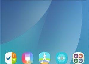 Samsungin testaama uudenlainen Android-käyttöliittymä Galaxy Note -puhelimille.