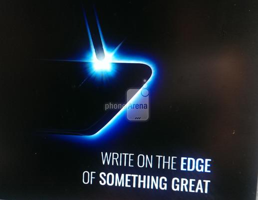 Oletettu Galaxy Note 7 -promokuva. (Lähde: PhoneArena)