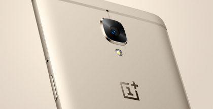 Aiempi OnePlus 3 ja Soft Gold -värivaihtoehto.