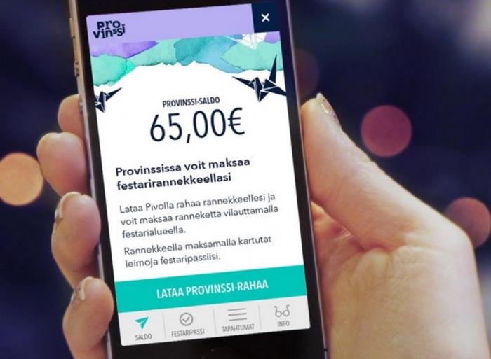 Provinssissa maksaminenkin käy festarirannekkeella – rahan lataus onnistuu Pivolla | Mobiili.fi