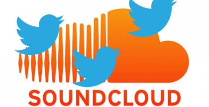 SoundCloud + Twitter.