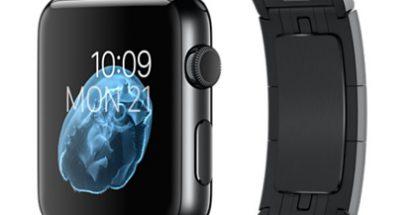Apple Watch tähtimustana.