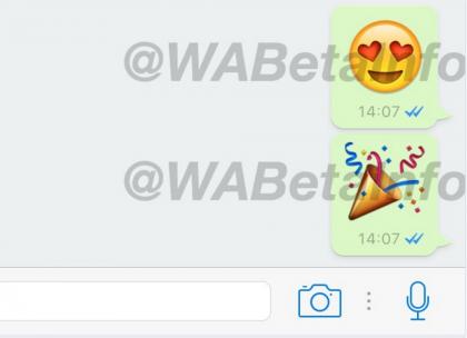 WhatsApp on saamassa suuremmat emojit.