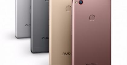 Takaa Nubia Z11:stä löytyy kameran ohella sormenjälkitunnistin.