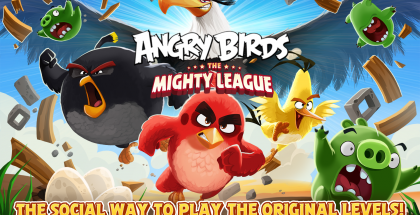 Angry Birdsin Mighty League -päivitys.