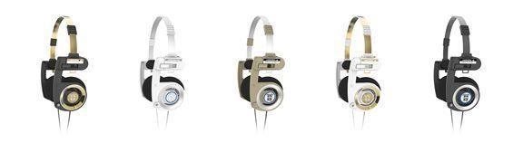 Koss Porta Pro Limited Edition -kuulokkeiden mahdolliset väriyhdistelmät.