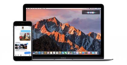 macOS Sierra tuo kirjautumisen Apple Watchilla osaan uudemmista Maceista.