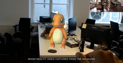 Pokémon GO Microsoft HoloLens