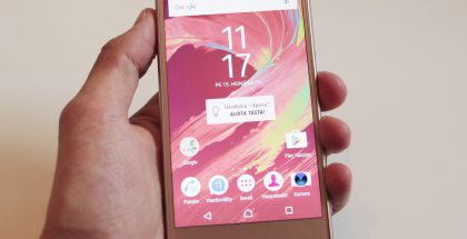 Sony Xperia X Performance.