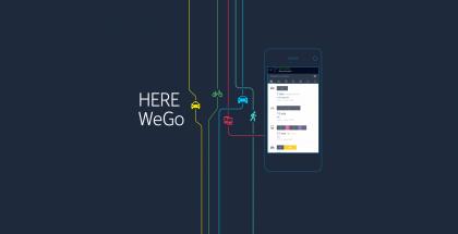 HEREn sovellus on nyt WeGo.