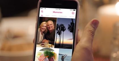 Snapchatin uusi Memories-toiminto.