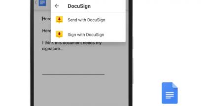 Allekirjoitukset suoraan Google Docsista.