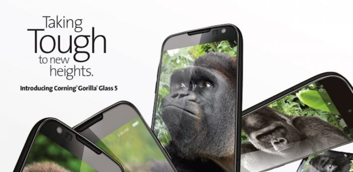 Corning Gorilla Glass 5.