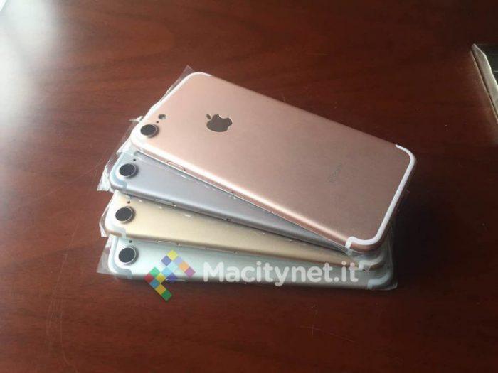 iPhone 7 värit