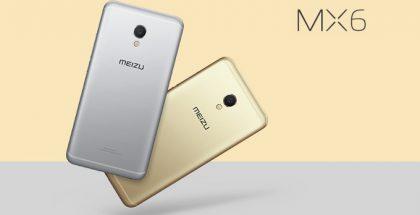 Meizu MX6.