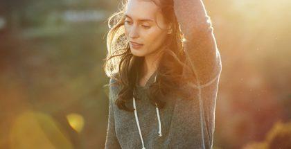 Huawein mainoskuva kuvattu Canonilla