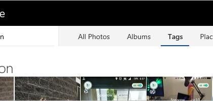 OneDrive tunnistaa Poké-kuvat.