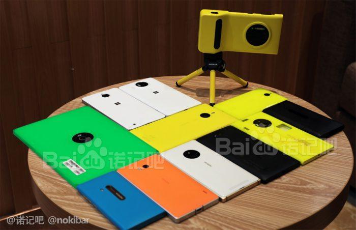 Joukko peruttuja Lumia-prototyyppejä vuotokuvassa. Mukana muun muassa Nokia 2020 -tabletti.