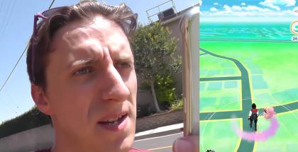 Pokémon GO pelihetki.