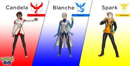 Pokémon GO -pelin tiimijohtajat.