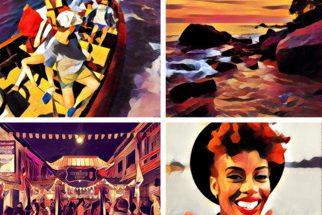 Prisma-sovelluksella voi muokata kuviaan erilaisilla taiteellisilla tyyleillä.