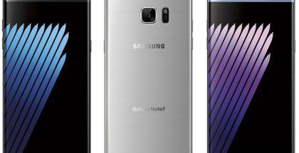 Samsung Galaxy Note7, Evan Blassin aiemmin julkaisemassa vuotaneessa lehdistökuvassa.