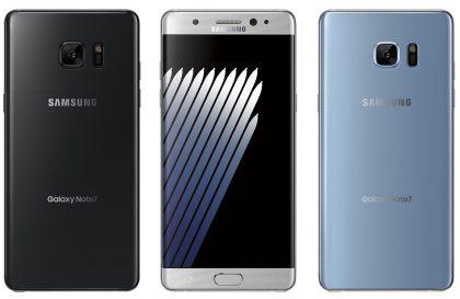Samsung Galaxy Note7, Evan Blassin julkaisemassa vuotaneessa lehdistäkuvassa.