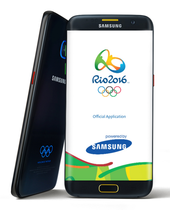 Samsungin Galaxy S7 edge Olympic Games Edition julki ...