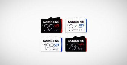 Samsungin UFS-kortit lupaavat rutkasti lisävauhtia.