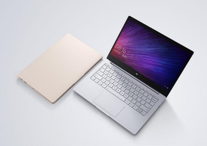 Xiaomi Mi Notebook Air on alumiinikuorinen.