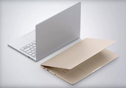 Mi Notebook Air tulee tarjolle sekä hopeisena että kultaisena värivaihtoehtona.