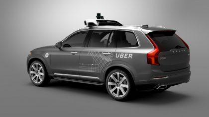 Uber alkaa tarjoamaan kyytejä jo itseajavalla Volvollaan.