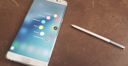 Samsung Galaxy Note7 ja S Pen.