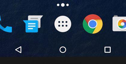 Android navigointinäppäimet